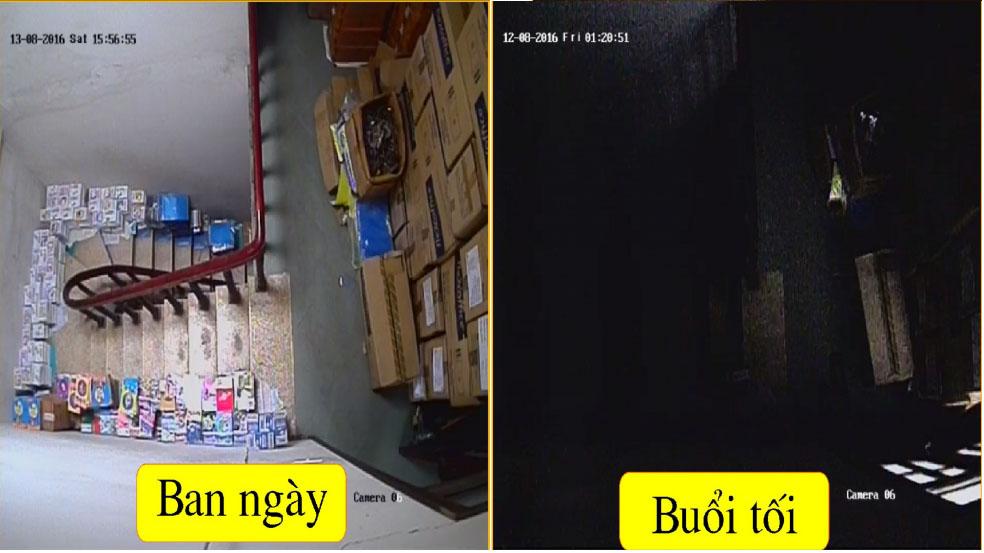 Camera bi loi hong ngoai