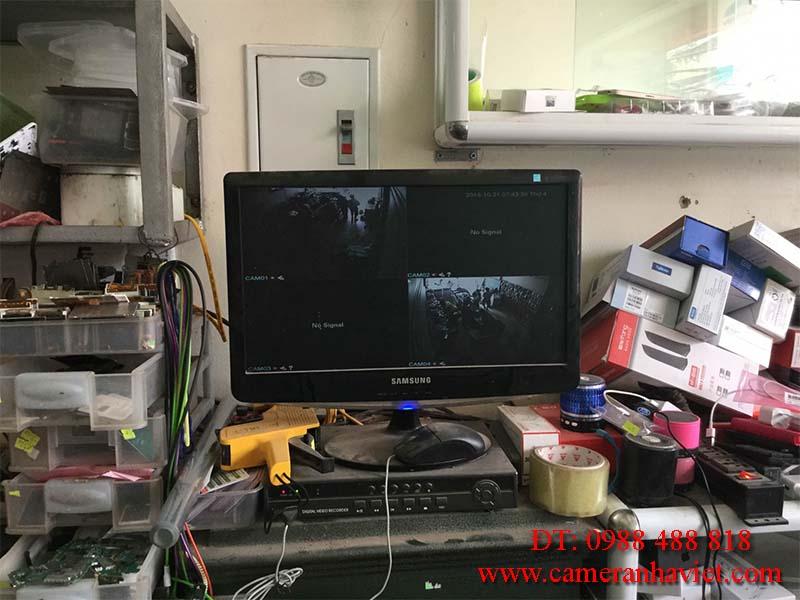 Sửa chữa camera tại nhà ở Bình Dương