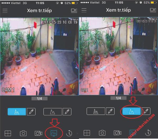 cách tăng độ nét camera quan sát