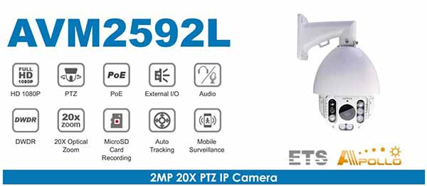Camera Speed Dome IP 2MP AVTECH AVM2592L giá tốt