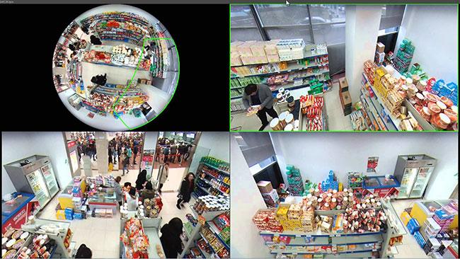 Hình ảnh demo thực tế camera IP DH-IPC-EBW81230P