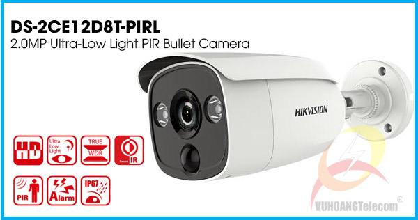 Camera HDTVI Hikvision DS-2CE12D8T-PIRL giá tốt