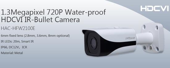 Camera HDCVI DAHUA HAC-HFW2100E
