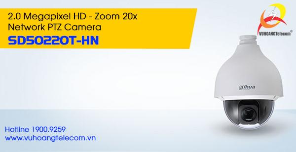 Camera IP PTZ 2.0MP Dahua SD50220T-HN