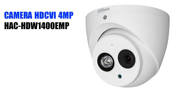 Camera Dome 4MP HDCVI Dahua HAC-HDW1400EMP giá rẻ