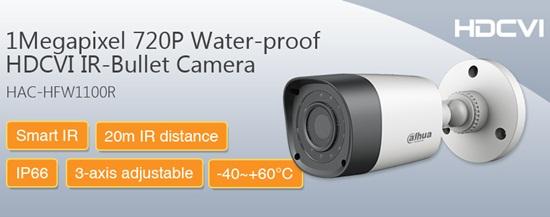 Camera HDCVI DAHUA HAC-HFW1100R