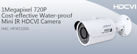 Camera HDCVI DAHUA HAC-HFW1100S