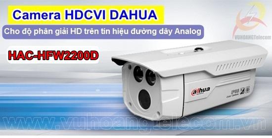 Camera HDCVI DAHUA HAC-HFW2200D