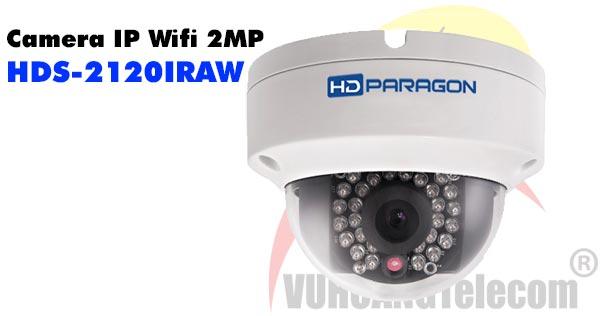 Camera Dome IP Wifi 2MP HDParagon HDS-2120IRAW giá rẻ