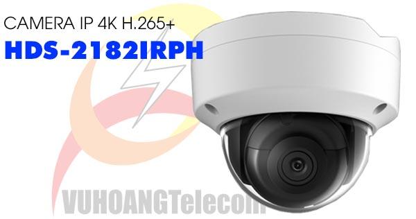 Camera Dome IP 4K H.265+ HDParagon HDS-2182IRPH giá rẻ