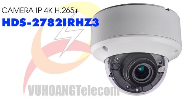 Camera Dome IP 4K H.265+ HDParagon HDS-2782IRHZ3 giá tốt