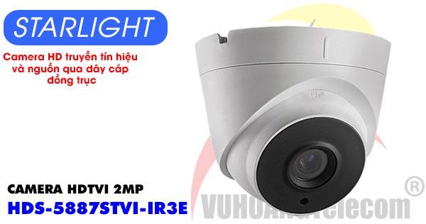 Camera Dome HDTVI 2MP Starlight HDPARAGON HDS-5887STVI-IR3E giá rẻ