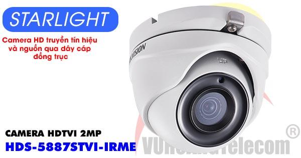 Camera Dome HDTVI 2MP Starlight HDPARAGON HDS-5887STVI-IRME giá rẻ