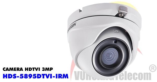 Camera Dome HDTVI 3MP HDParagon HDS-5895DTVI-IRM giá rẻ