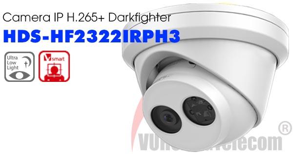 Camera IP 2MP H.265+ Darkfighter HDParagon HDS-HF2322IRPH3 giá rẻ