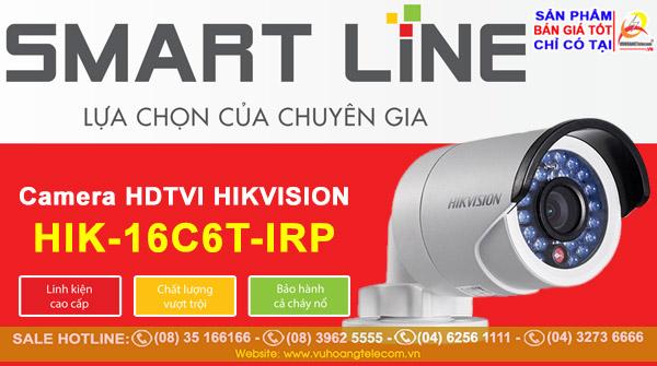 Camera Smart Line HIK-16C6T-IRP