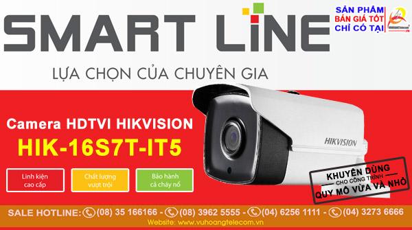 Camera Smart Line Hikvision HIK-16S7T-IT5