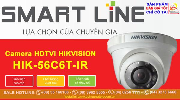 Camera Smart Line HIK-56C6T-IR