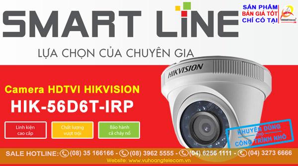 Camera Smart Line Hikvision HIK-56D6T-IRP