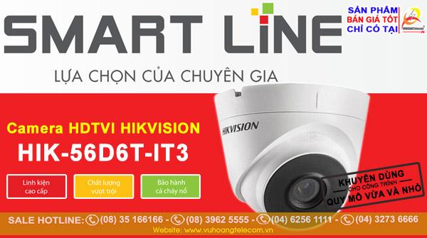Camera Smart Line Hikvision HIK-56D6T-IT3