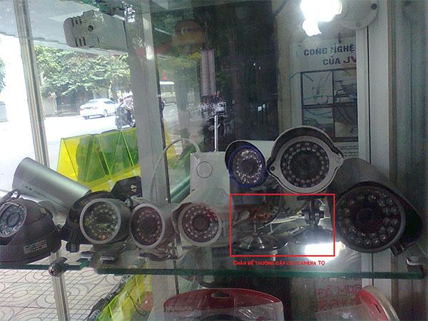 Huong dan phan biet camera chinh hang va camera nhai
