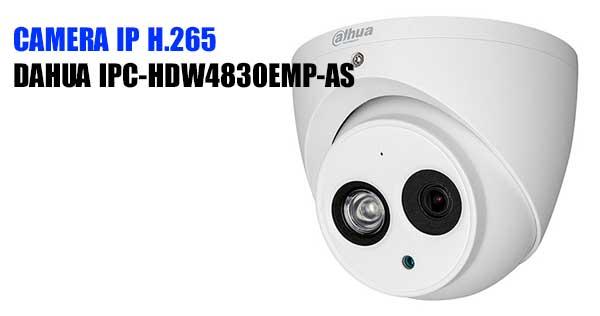 Camera Dome IP H265 8MP Dahua IPC-HDW4830EMP-AS giá rẻ