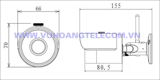 Camera IP Wifi DAHUA IPC-HFW1200S-W - 3