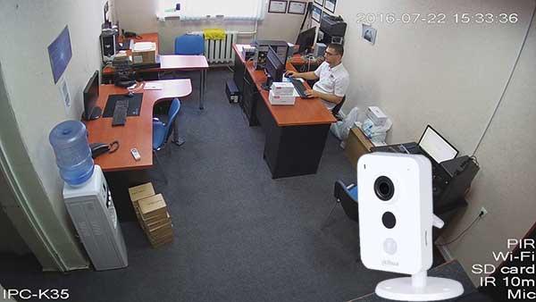 Camera IP Wifi 3.0MP Dahua IPC-K35A dễ dàng lắp đặt