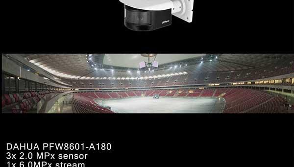 Test camera IP Dahua IPC-HFW4830EP-S quan sát góc 180 độ ở khu vực ngoài trời