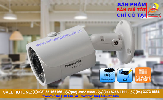 Camera IP hồng ngoại PANASONIC K-EW114L03 1