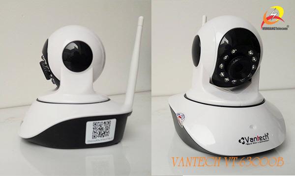 Mở hộp camera wifi HD Vantech VT-6300B-4