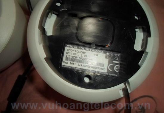 Camera quan sát Samsung SCD-1020RP - 3