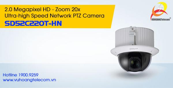 Camera IP PTZ 2.0MP Dahua SD52C220T-HN