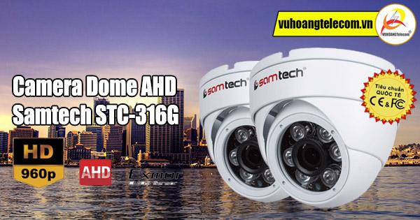Camera Dome AHD Samtech STC-316G - 1