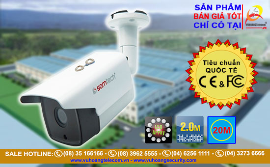 Camera thân hồng ngoại SAMTECH STC-526FHD