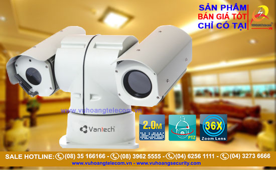 VANTECH VP-309AHD - Camera AHD chuyên dụng chống cháy nổ