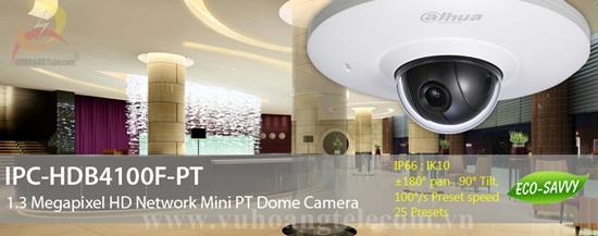 Camera IP DAHUA HDB4100F-PT - 2