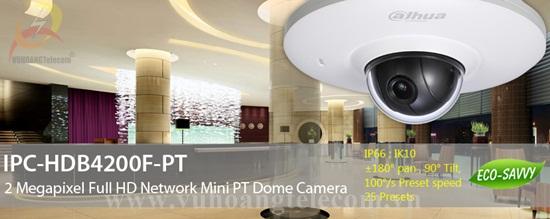 Camera IP DAHUA HDB4200F-PT - 2