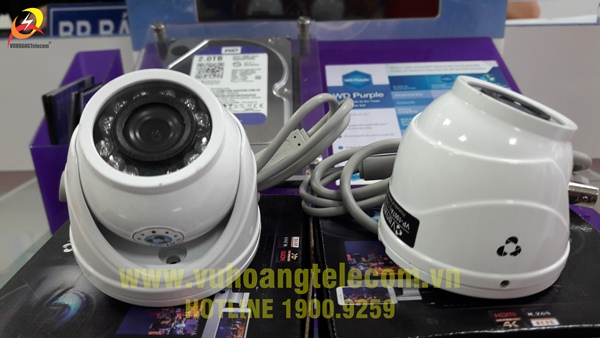 Camera Vantech VT-1007A thiết kế đẹp, vỏ kim loại chắc chắc