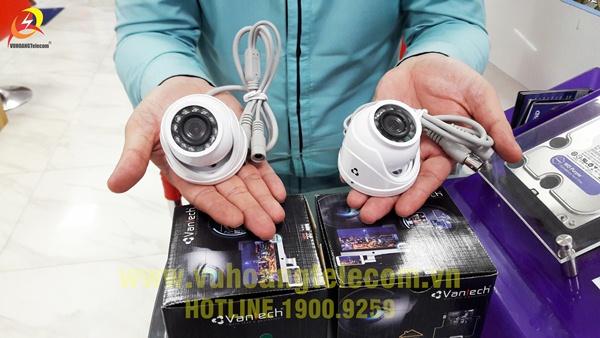 Camera Vantech VT-1007A nhỏ gọn, thẩm mỹ, phù hợp lắp đặt cho gia đình, văn phòng, cửa hàng...