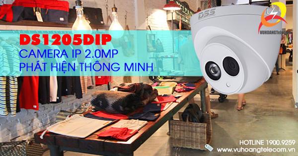 Camera Dome IP 2.0MP Dahua DS1205DIP giá tốt