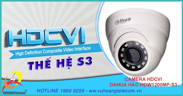 Bán camera HDCVI HAC-HDW1200M-S3 giá rẻ