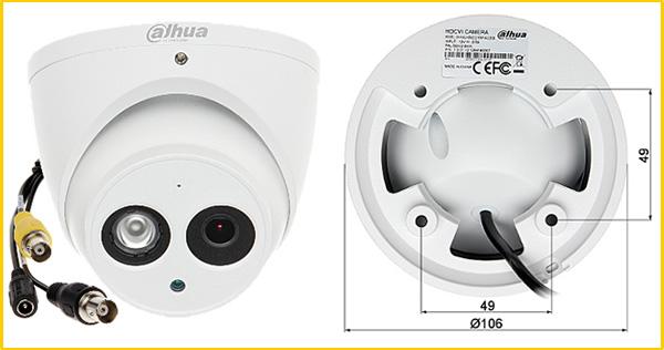 Camera HDCVI chống ngược sáng Dahua DH-HAC-HDW2221EMP-A