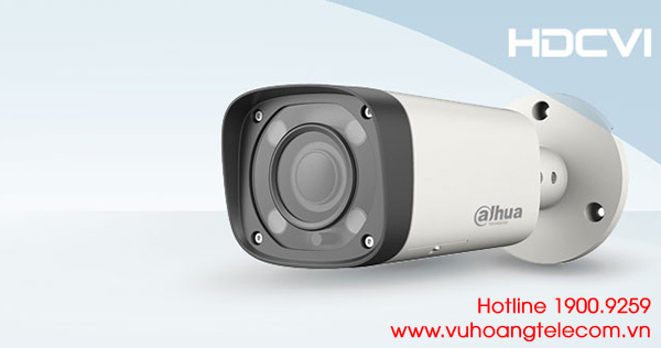 Camera HDCVI 2MP Dahua DH-HAC-HFW2221RP-Z-IRE6