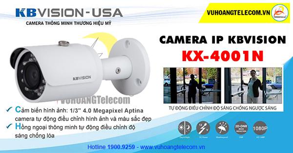 Camera IP Kbvision KX-4001N