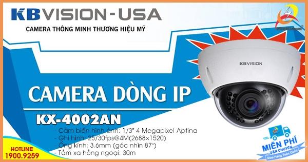 Camera IP Kbvision KX-4002AN