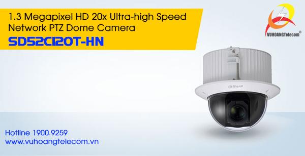 Camera IP PTZ 1.3MP Dahua SD52C120T-HN
