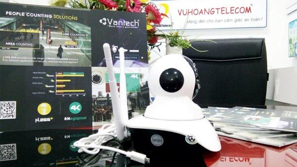 Hình ảnh thực tế sản phẩm camera VT-6300C model mới - 2