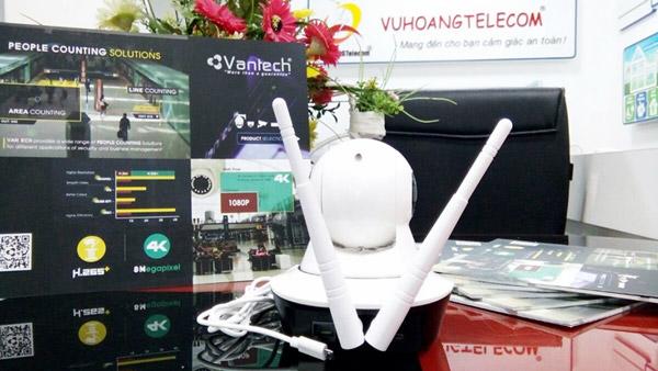 Hình ảnh thực tế sản phẩm camera VT-6300C model mới - 3