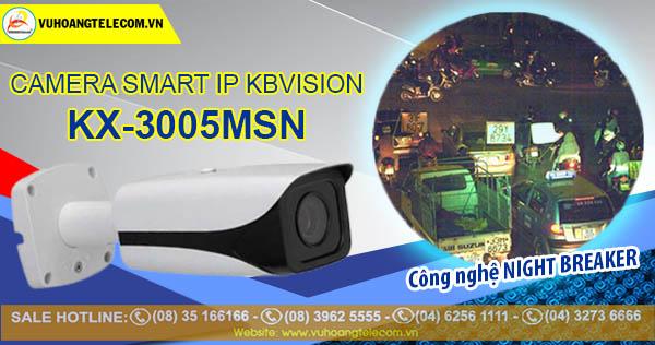 Camera Smart IP Kbvision KX-3005MSN (3.0 Megapixel)